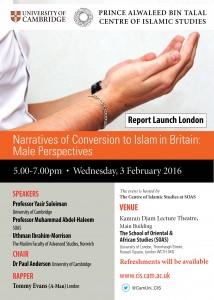 NoC Report Launch Poster London