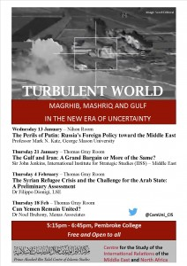 Turbulent World Lent Term 2016 Poster