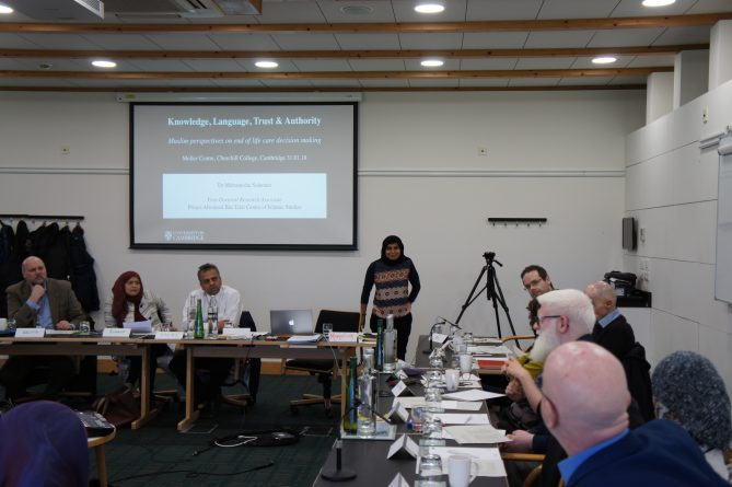 <p>Dr Mehrunisha Suleman opens the conference</p>